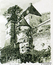 CHATEAU DE BIRON   FRANCE Document Philatélique Officiel  2292