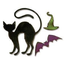 Sizzix Bigz Die - 660962 Halloween Hocus Pocus Cat by Tim Holtz (RETIRED)