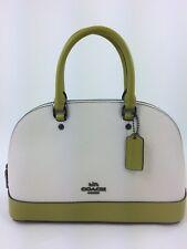 New Coach F24589 mini Sierra Leather Satchel Shoulder Handbag Purse ColorBlock