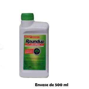 Unkrautvernichter Roundup Ultraplus 500 ML Glyphosat 36% Ohne Depotwirkung 3000m