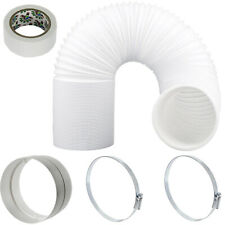 """UNIVERSAL Hose Pipe Vent PVC Extension Kit 6m 5"""" 125mm for Air Conditioner"""