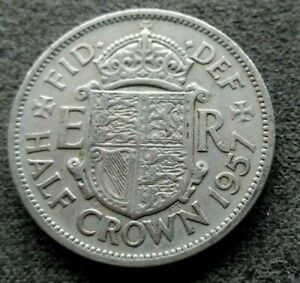 Royaume-Uni Half Crown 1957  [12572]