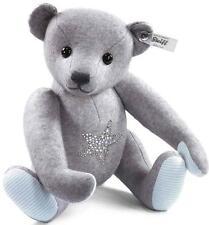 NEW Steiff Grey Felt Swarovski elements Ltd Edt Star Fish Teddy Bear 035517