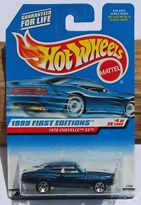 Hot wheels HW 1999 First Editions 1970 Chevelle SS Car FNQHotwheels FH810