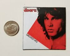 Miniature record album Barbie Gi Joe 1/6 playscale Doors Jim Morrison Greatest