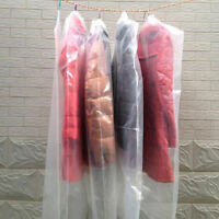 Useful 5Pcs Dust-proof Clothes Cover Suit /Dress Garment Bag Storage Protector