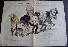 LA LUNE ROUSSE, N°19  , dimanche 15 AVIL 1877, 4 c...andidats pour un fauteuil