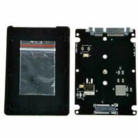 "M.2 NGFF SSD to 2.5"" SATA 3 Adapter Card Enclosure w/ Hard Disk Converter N9F1"