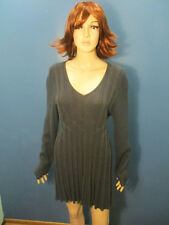 XL dark gray stretchy knit dress by SOPHIE MAX