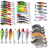 Fishing Lure Swimbaits with Hooks Panfish, Luminous shrimp, Bass Swim Bait Lures