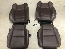 2015 OEM Factory Used Acura TLX Brown Leather Heated Seat Skins With Foam