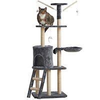 Ezi Cat Tree Climbing Tower Sisal Scratcher Scratching Post Activity Centre