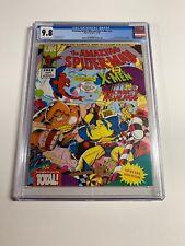 Amazing Spider-man And The X-men Arcade's Revenge Nn 1 Cgc 9.8 UK Nintendo Promo