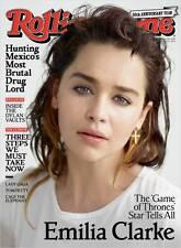 Rolling Stone Game of Thrones Emilia Clarke Bob Dylan Carlos Santana Dua Lipa