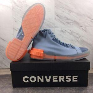 Converse All Star Disrupt CX Hi Top Blue Slate Orange 167754C Men's Size 9.5