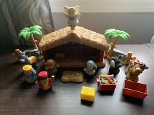 Fisher Price Little People A Christmas Story Nativity Set Partial Set Musical