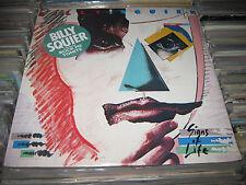 Billy Squier Signs Of Life Vinyl LP Rock me tonight W/ HYPE STICKER STILL SEALED