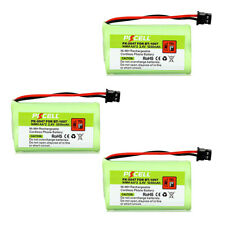 3x NiMH 1200mAh 2.4V Telephone Batteries for BT-1007 Panasonic HHR-P506A Type 17