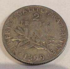 2 FRANCS SEMEUSE DE 1899 @TB@REF 23-9-2