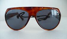 Vintage Bausch & Lomb Italian Frame Sunglasses w neck Strap. 1970s. W0581