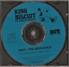 MIKE + THE MECHANICS: KING BISCUIT-COMPLETE RADIO BROADCAST [10/89] + LOG & ADS