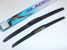 """Wiper Blades Latest Spoiler Style 22""""/22"""" HOOK FITTING Great Upgrade (PAIR)"""