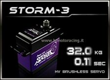 POWER HD STORM-3 SERVO DIGITALE 32.0 kg 0.11 sec BRUSHLESS INGRANAGGI IN TITANIO