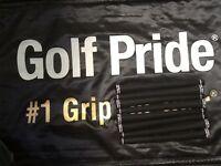 "8 Brand New Golf Pride Tour Velvet 360 Golf Grips - .600"" Round Standard Size"