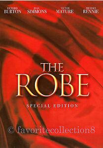 The Robe (1953) - Richard Burton, Jean Simmons (Region All)