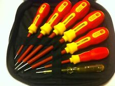 7 PC Insulated Screw Driver Set. 1000V Rated.
