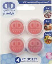 Diamond DOTZ 4 PC Wax Pots DIP Dot Dazzle DDA 029