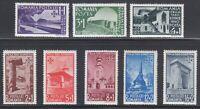 Romania 1940 MNH Mi 631-638 Sc B127-B134 Architecture monuments **