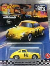 New Listing2020 Hot Wheels Premium Car Culture Boulevard Porsche 356 Outlaw-Free Ship!