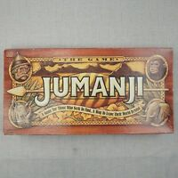 Jumanji Board Game Milton Bradley Movie Game - 100% Complete Vintage 1995