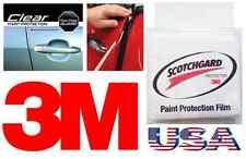 3M 2 Door Edge ANTI Scratch Guard Trim Paint Chip Protector CLEAR Strips Truck $
