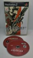 Metal Gear Solid 2: Sons of Liberty Game for Sony PlayStation 2 PS2 PAL TESTED