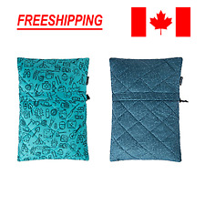 Portable Sponge Pillow for Travel Camping Neck Support