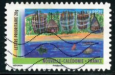 TIMBRE FRANCE AUTOADHESIF OBLITERE N° 638 ANNEE DES OUTRE MER NOUVELLE CALEDONIE