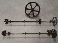 Uralte Transmission für Dampfmaschine, Dampfspielzeug, z. B. Bing, Märklin