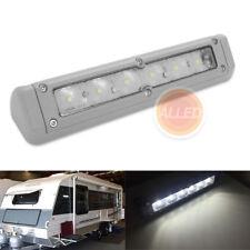 200mm 12V LED Awning Light Gray Exterior Rigid RV Campervan Yacht Boat Wall Lamp