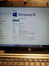 HP EliteBook 8440p, Intel i5-M520@2.4 GHz, 4GB 250 GB HD Windows 10 PRO, Charger