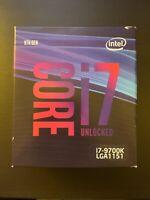 Intel - Core i7-9700K 9th Gen, 8 Core, 8 Thread 3.6 GHz UNLOCKED (4.9 GHz Turbo)