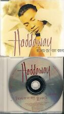 Haddaway-lover Be Thy Name 3 TRK CD MAXI 1995