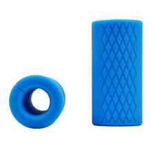 2PCS New Thick Fat Barbell Silicone Grips Home Gym Arm Wrap Bar Dumbbell Grip US