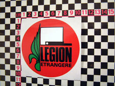 French Foreign Legion Sticker for Citroen DS 2CV Renault 4 Classic Car Matra