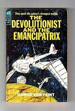 THE DEVOLUTIONIST AND THE EMANCIPATRIX (Homer Eon Flint/1st US pb/Dr. Kinney)