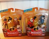 Disney The Incredibles 2 Mr. Incredible & Edna and Elastigirl & Underminer     C