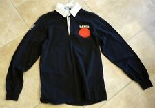 Whitesnake 1990 Restless Heart Tour Crew Issued Long Polo Shirt Black Medium