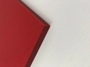 """Red Plastic (HDPE) Cutting Board 1/4"""" - .250"""" Thick FDA/NSF You Pick The Size"""