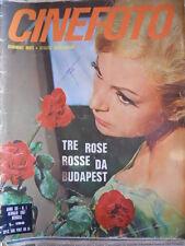 Rivista di fotoromanzi CINEFOTO n°1 1967 Tre rose rosse da Budapest   [C91]